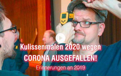 Kein Kulissenmalen 2020