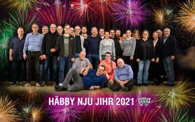 Häbby nju Jihr 2021
